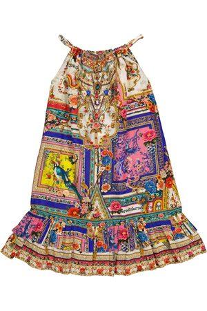 Camilla Girls Printed Dresses - Printed cotton and silk dress
