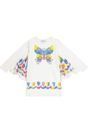 Stella McCartney Butterfly cotton sweatshirt dress