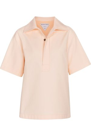 Bottega Veneta Cotton polo top