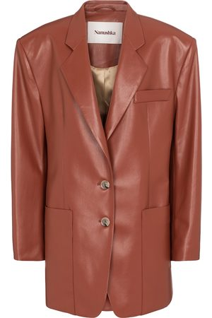 Nanushka Evan faux leather blazer