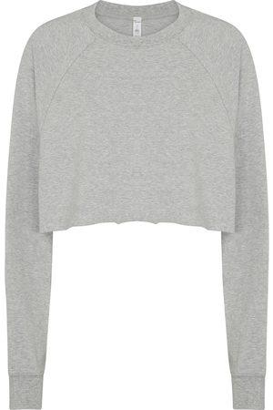 alo Women Hoodies - Double Take cropped sweatshirt