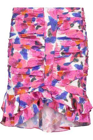 Isabel Marant Milendi high-rise floral miniskirt
