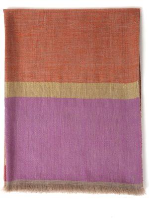 Kashmir Loom Women Dona Palla Throw - Color: - Material: 98% Cashmere; 2% Metallic Threads - Moda Operandi