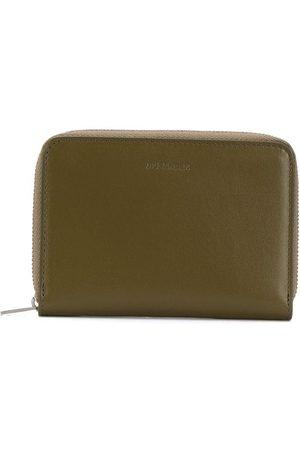 Jil Sander Men Wallets - Debossed-logo zip-around wallet