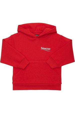 Balenciaga Girls Hoodies - Cotton Sweatshirt Hoodie