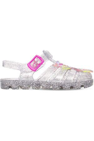 SOPHIA WEBSTER Butterfly Glitter Jelly Sandals