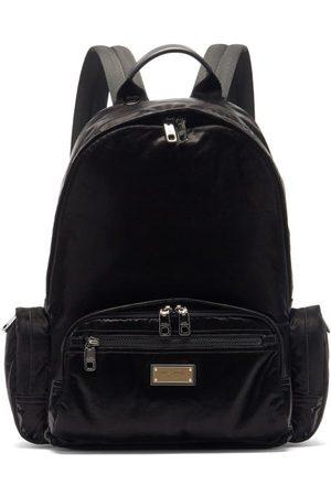 Dolce & Gabbana Logo Plaque Backpack - Mens