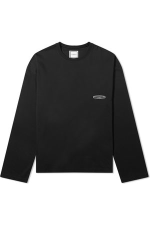 WOOYOUNGMI Long Sleeve Back Logo Tee
