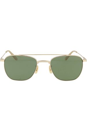 GARRETT LEIGHT Women Sunglasses - WOMEN'S RIVIERA4022GBNGRNPLR METAL SUNGLASSES