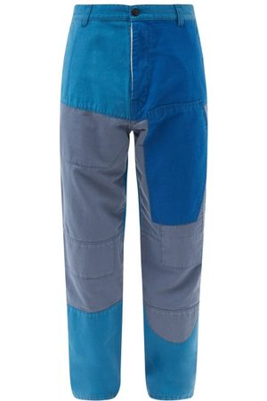 Eye/LOEWE/nature Patchwork Cotton Trousers - Mens