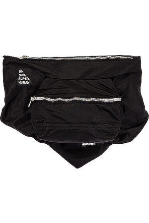 DRKSHDW BY RICK OWENS Bandana Cross Body Pouch Bag in