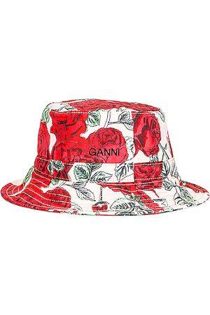 Ganni Women Hats - Seasonal Recycled Tech Hat in Pink