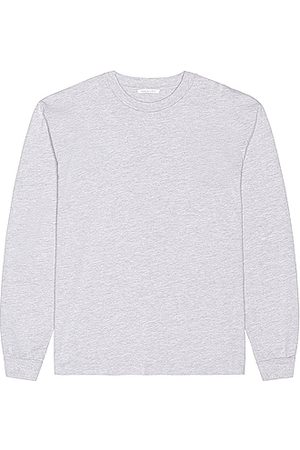 JOHN ELLIOTT Long Sleeve University Tee in Grey