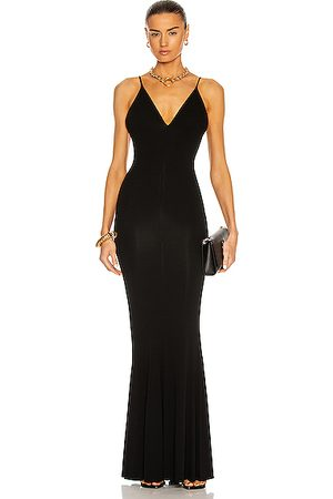 ALEXANDRE VAUTHIER Sleeveless Flare Gown in