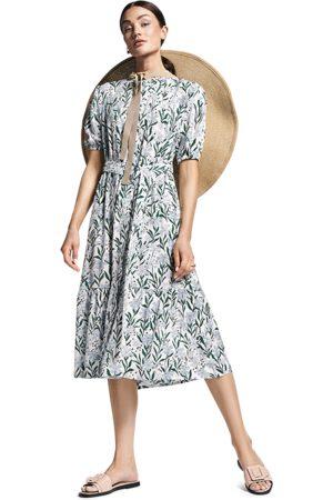 Riani Women Printed Dresses - Floral Print Midi Dress