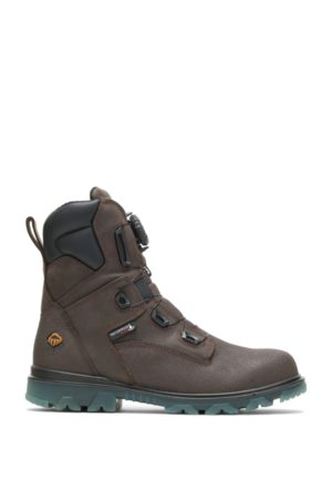 """Wolverine Men Boots - Men's I-90 EPX® BOA® 8"""" CarbonMAX Boot Coffee Bean, Size 7.5 Extra Wide Width"""