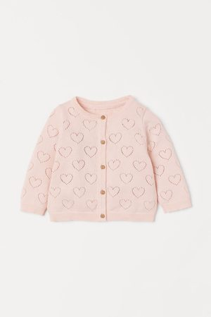 H&M Cotton Pointelle Cardigan
