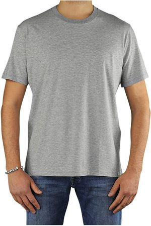 Paolo Pecora Short sleeve Men Grey Cotone