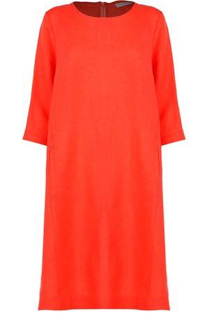 Le Tricot Perugia WOMEN'S 766183280 LINEN DRESS