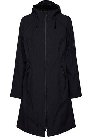 Ilse Jacobsen Long Raincoat Dark Indigo