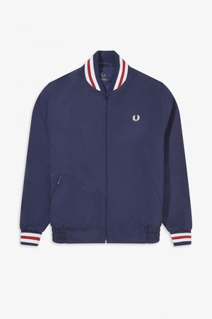 Fred Perry Reissues Fred Perry Made in England Bomber Jacket - Navy