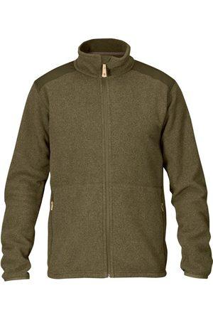 Fjällräven Fjallraven Sten Fleece Jacket - Dark Olive Colour: Dark Olive