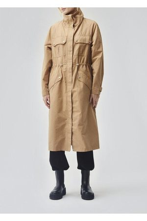 Modstrom Women Jackets - Modstr m - Henley Jacket In Camel