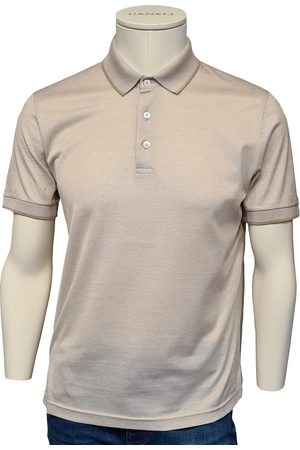 Canali Biscuit Pique Cotton Polo Shirt T0640 MJ00351/702