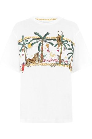 HAYLEY MENZIES Jungle Safari Cotton T-Shirt