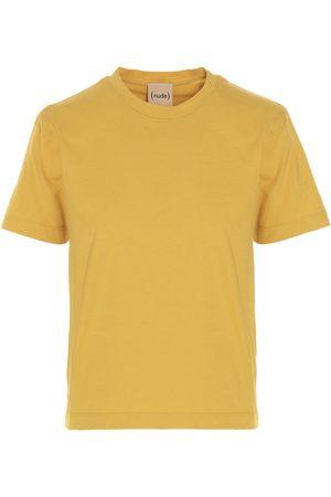 NUDE Women T-shirts - WOMEN'S 1103529141 OTHER MATERIALS T-SHIRT
