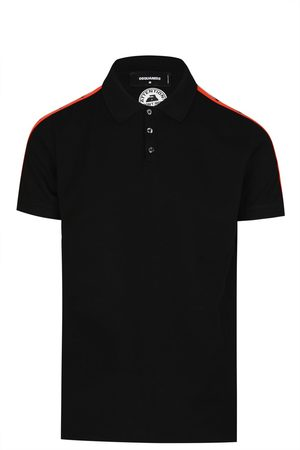 Dsquared2 Men Polo Shirts - TAPE LOGO POLO