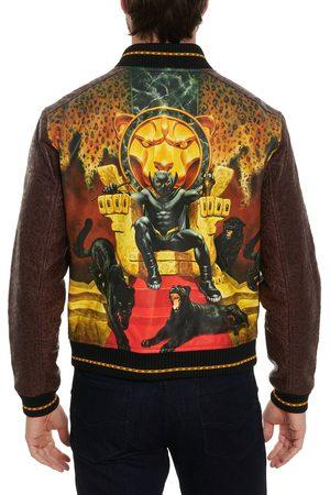 Robert Graham Panther Throne Leather Jacket