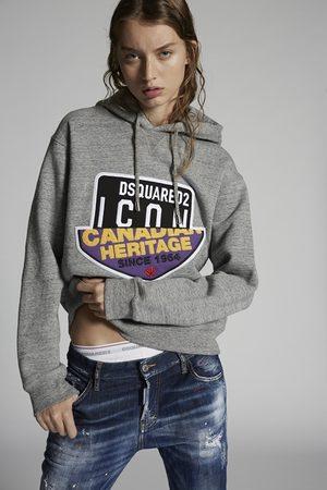 Dsquared2 Women Sweatshirt Grey