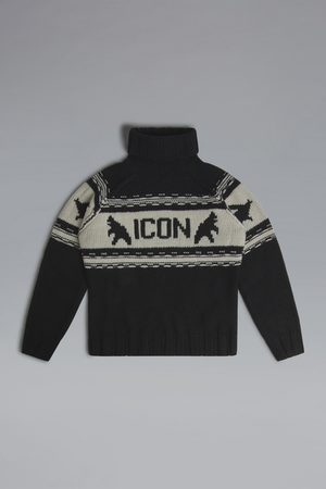 Dsquared2 Unisex High neck sweater