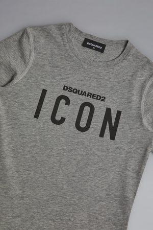 Dsquared2 Unisex Short sleeve t-shirt Grey