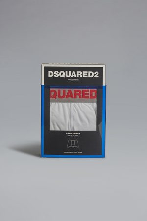 Dsquared2 Men Twinpack trunk Ivory