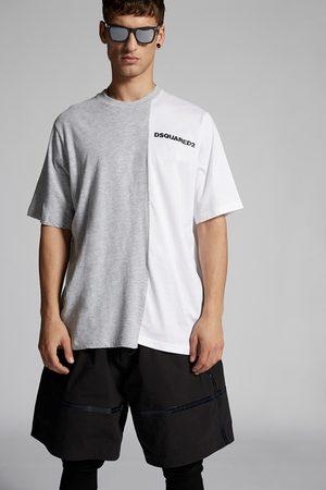 Dsquared2 Men Short Sleeve - Men Short sleeve t-shirt Grey