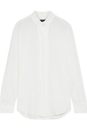 NILI LOTAN Woman Arden Silk Crepe De Chine Shirt Size L