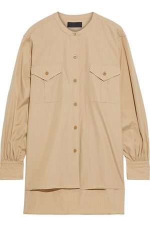 NILI LOTAN Women Long sleeves - Woman Orlene Cotton-poplin Shirt Size L