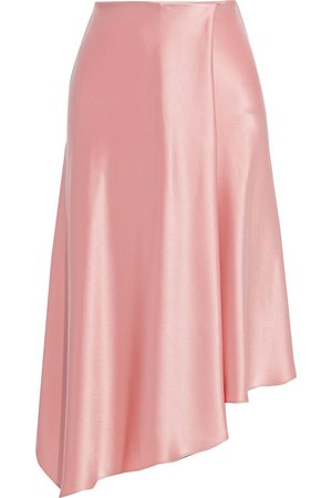 ALICE+OLIVIA Woman Jayla Asymmetric Satin Skirt Baby Size 0
