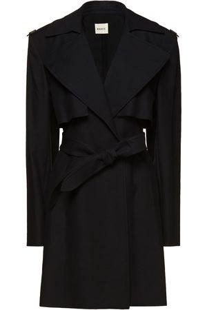Khaite Woman Dani Belted Cotton-gabardine Trench Coat Size 2