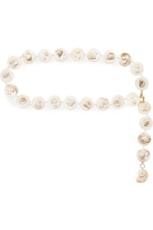 ANITA BERISHA Women Body Jewelry - Woman Gold-tone Pearl And Shell Belt Size