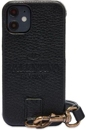 VALENTINO Men Phones Cases - Logo Neck iPhone 12 Case