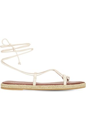 ALOHAS 10mm Tribe Leather Thong Sandals