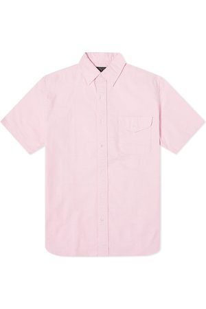 Beams Men Short sleeves - Short Sleeve Oxford Shirt