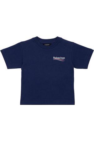 Balenciaga Girls T-shirts - Organic Cotton T-shirt