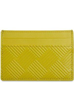 Bottega Veneta Men Wallets - Intreccio Debossed Leather Card Case