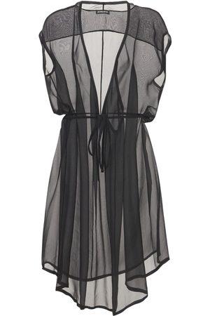 ANN DEMEULEMEESTER Women Dresses - Silk Sheer Muslin Dress