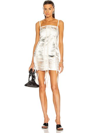 Givenchy Women Party Dresses - Bands Mini Dress in Ivory