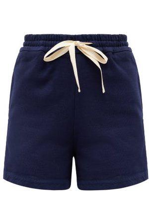 Jil Sander Drawstring Cotton-jersey Shorts - Womens